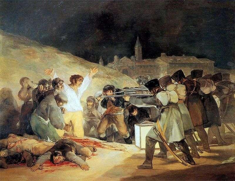 Розстріл повстанців у ніч на 3 травня 1803 року   Франциско де Гойя