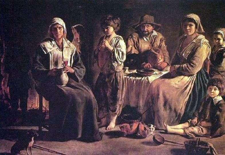 Селянське сімейство   Луї Ленен