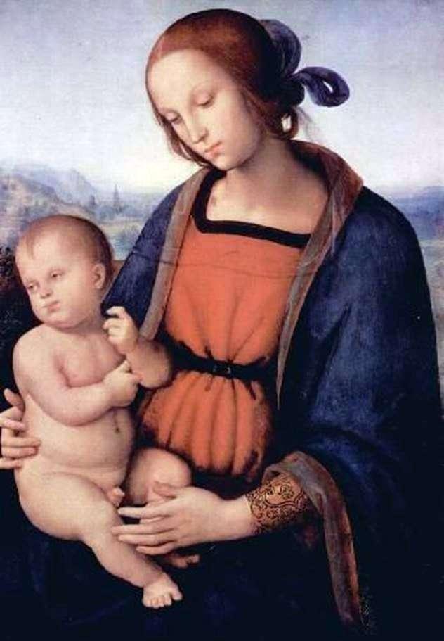 Мадонна з Немовлям   Пєтро ді Христофоро Вануччи Перуджіно