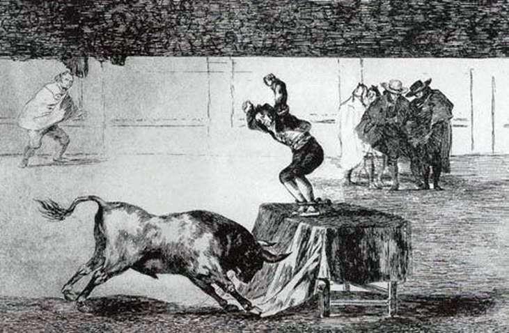 Тавромахія   Франсіско де Гойя