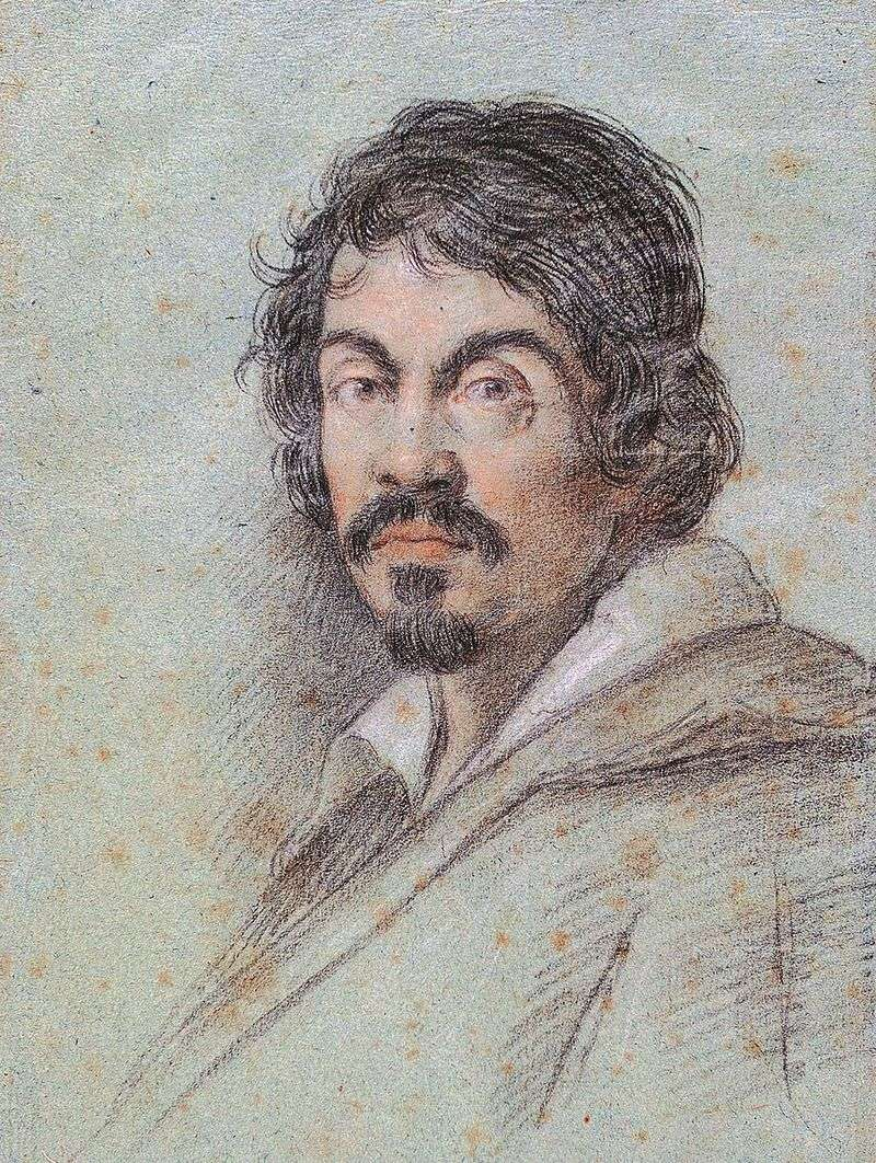 Портрет Караваджо   Оттавіо Леоні