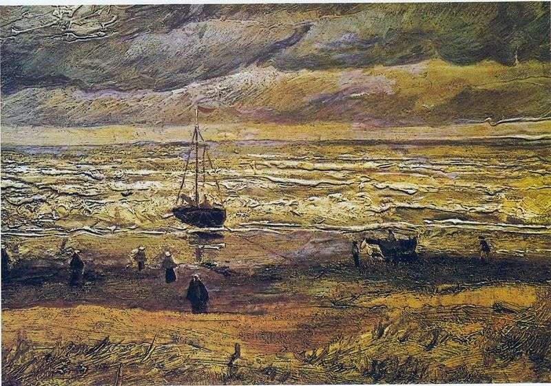 Вид на море в Схевенінгені   Вінсент Ван Гог