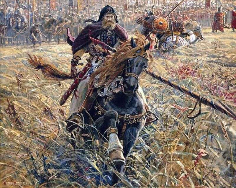 Перемога Пересвіту   Павло Риженко