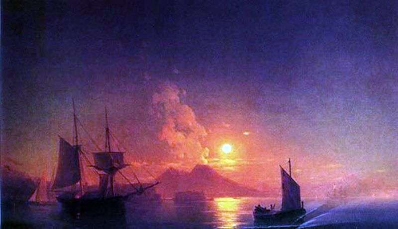 Неаполітанська затока в місячну ніч   Іван Айвазовський