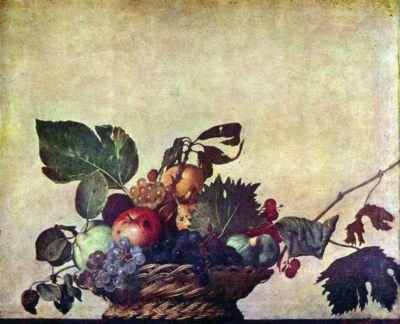 Кошик з фруктами   Мікеланджело Мерізі да Караваджо