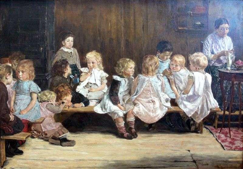 Дитячий садок в Амстердамі   Макс Ліберман
