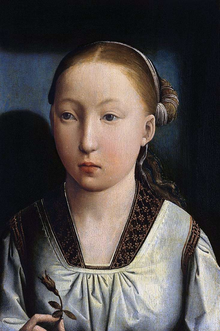Портрет дівчини   Хуан де Фландес