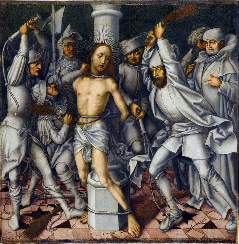 Бичування Христа   Ганс Гольбайн