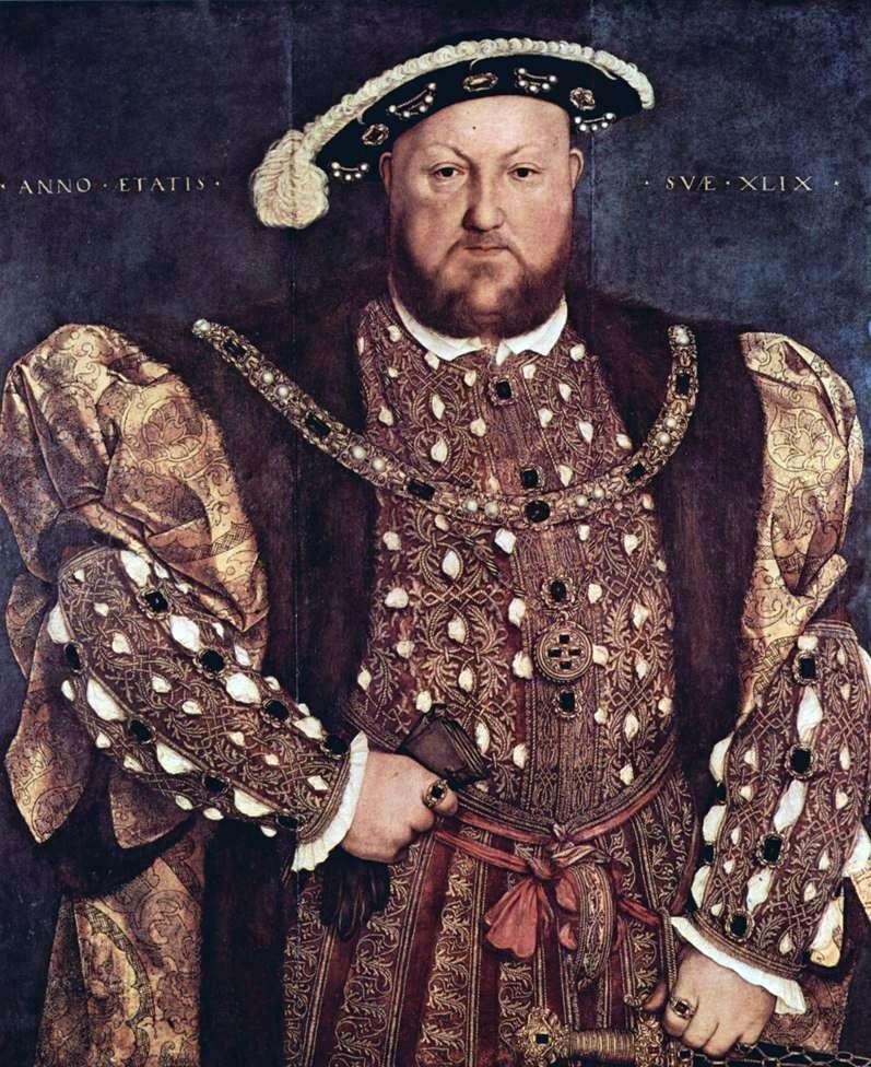 Портрет короля Генріха VIII   Ганс Гольбайн