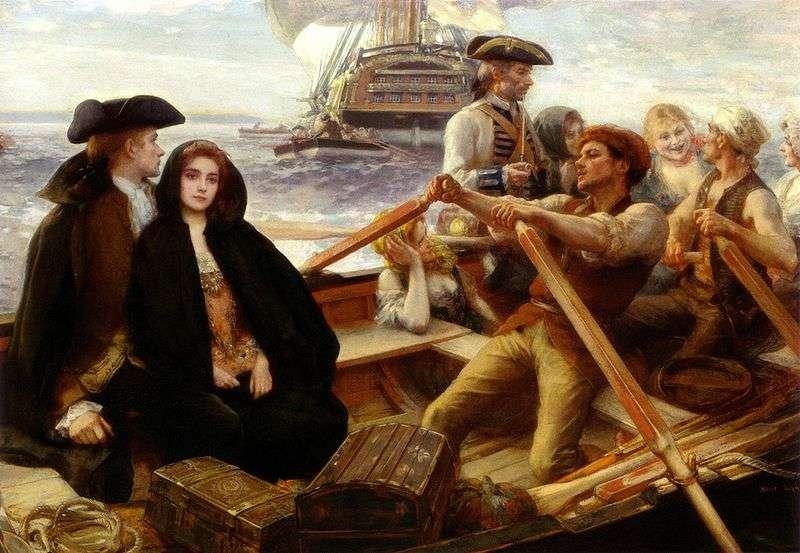 Веселеньке судно   Альберт Лінч