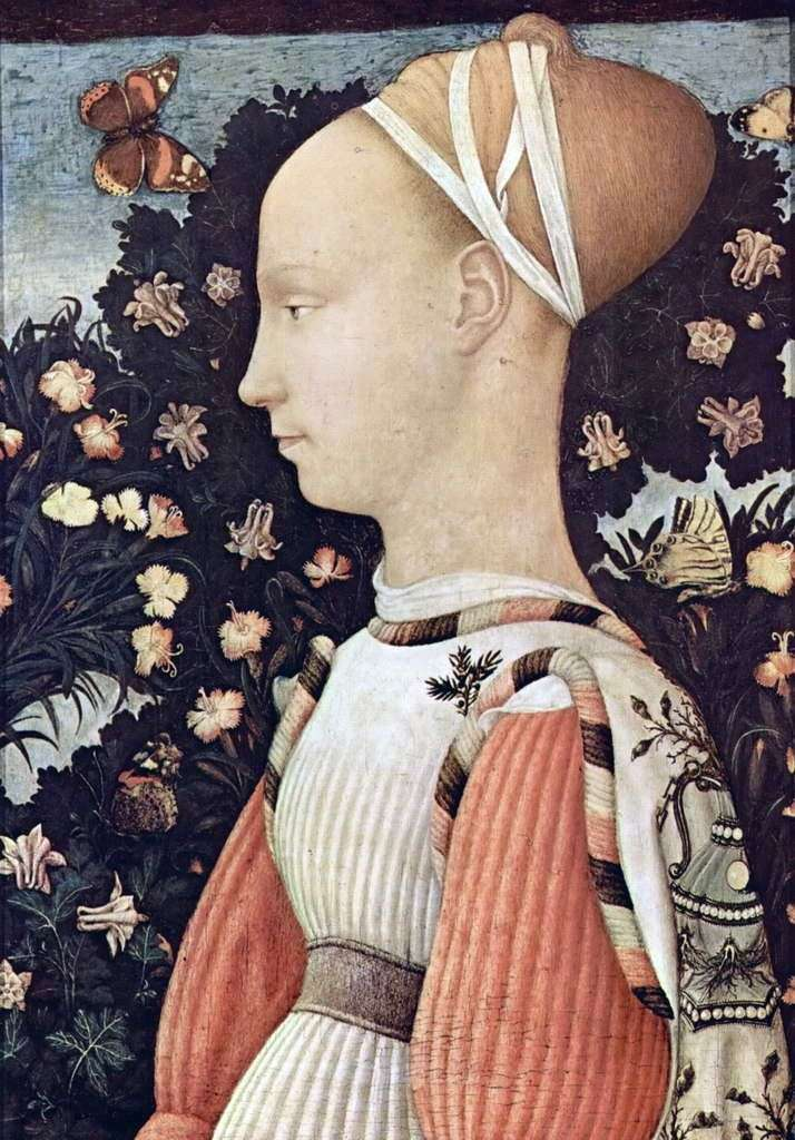Портрет Джиневри д Есте   Антоніо Пизанелло