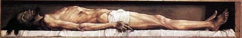 Мертвий Христос   Ганс Гольбайн