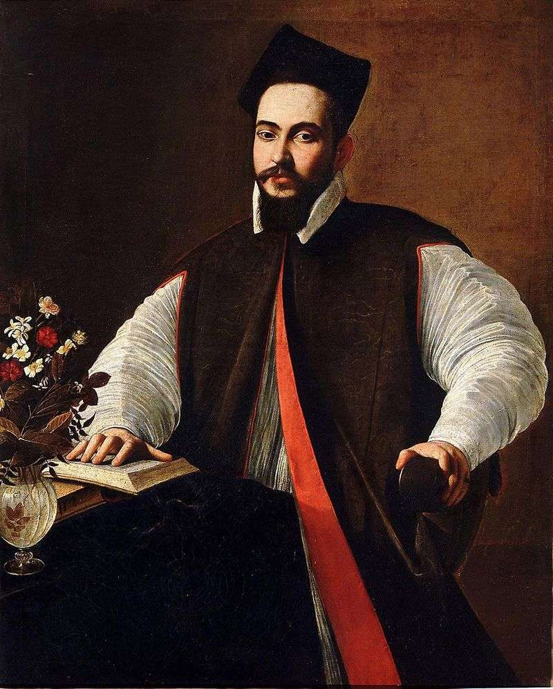 Маффео Барберіні, майбутній папа Урбан VIII   Мікеланджело Мерізі да Караваджо