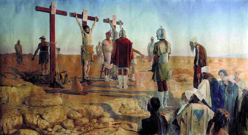 Голгофа (Зняття з хреста)   Андрій Петрович Рябушкін