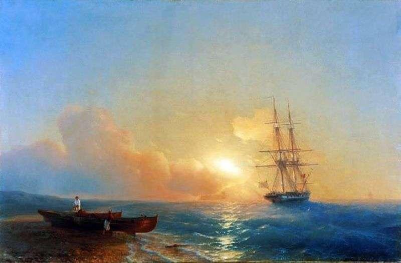 Рибалки на березі моря   Івана Айвазовського