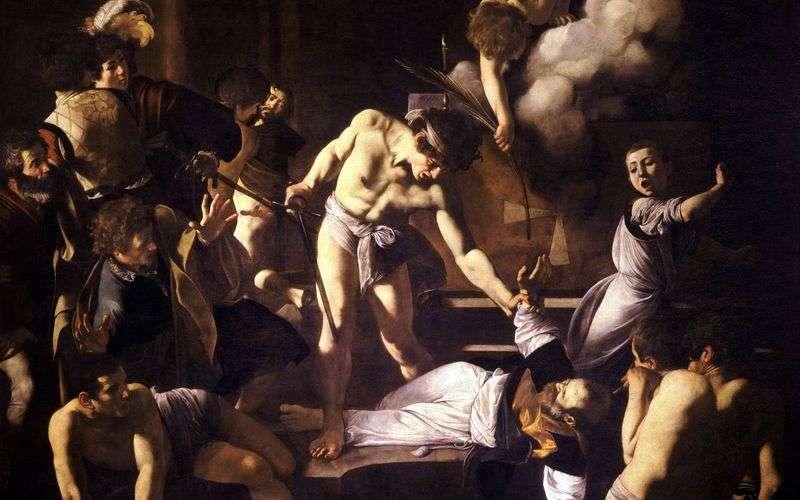 Мучеництво святого Матвія   Мікеланджело Мерізі да Караваджо