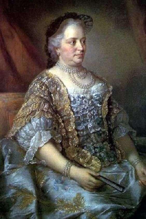 Портрет австрійської імператриці Марії Терезії   Жан Етьєн Ліотар