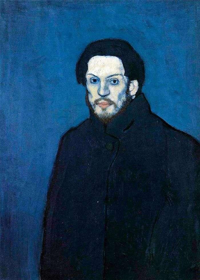 Автопортрет у блакитний період   Пабло Пікассо
