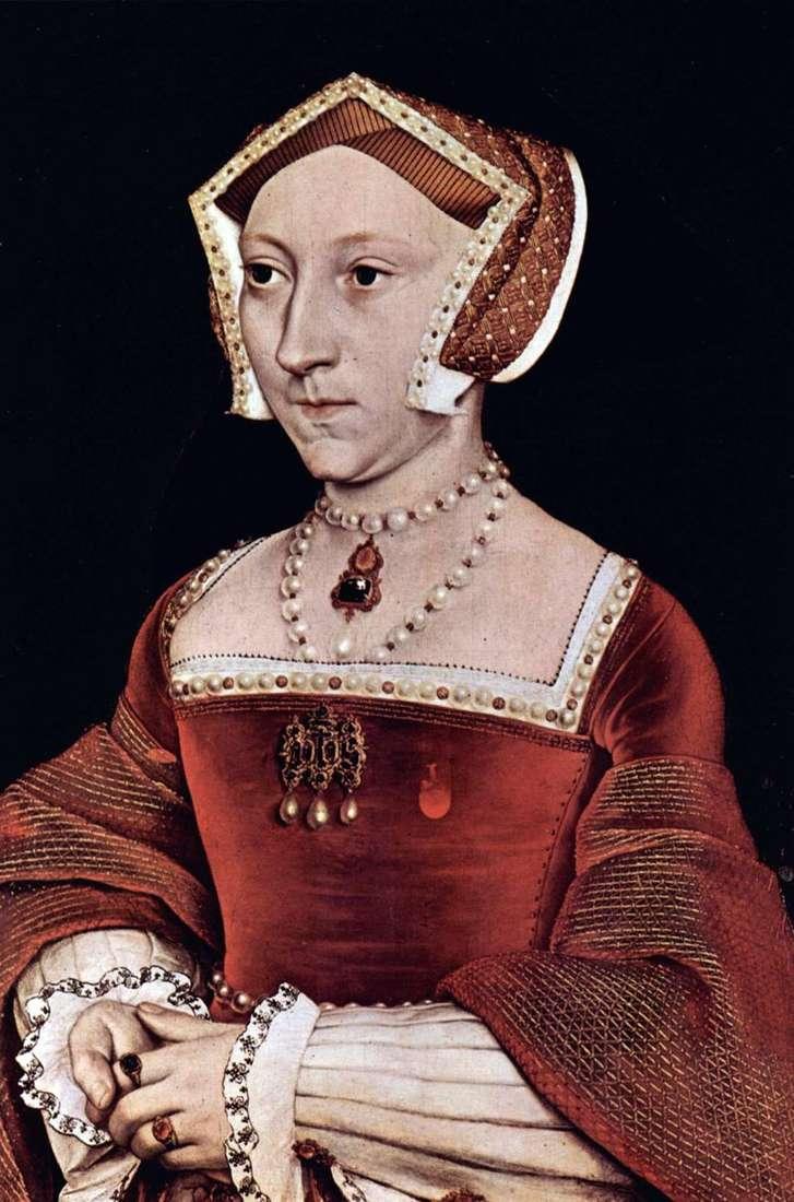Портрет англійської королеви Джейн Сеймур   Ганс Гольбайн