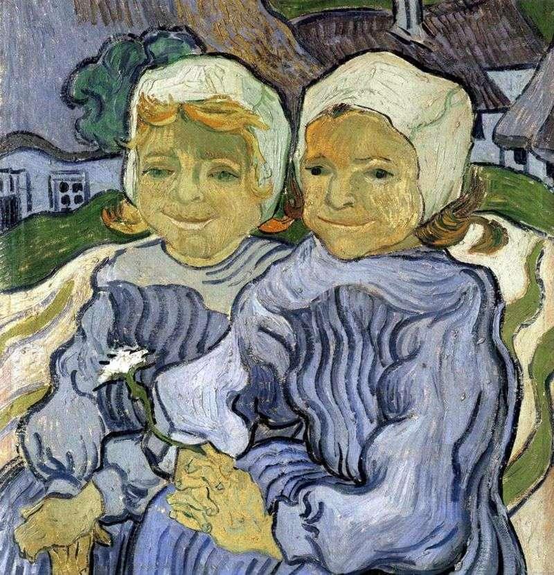 Двоє дітей   Вінсент Ван Гог
