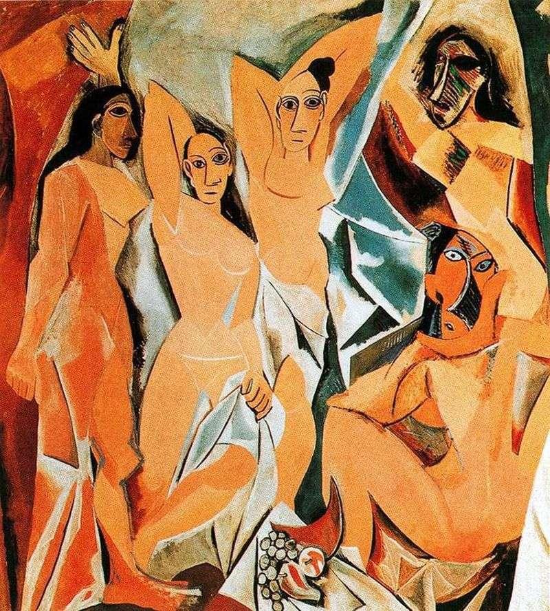 Авіньйонські панянки   Пабло Пікассо