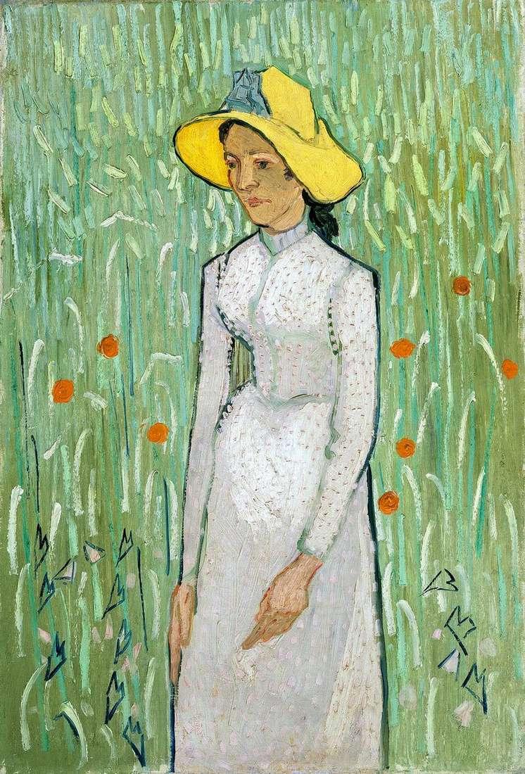 Дівчина в білому   Вінсент Ван Гог