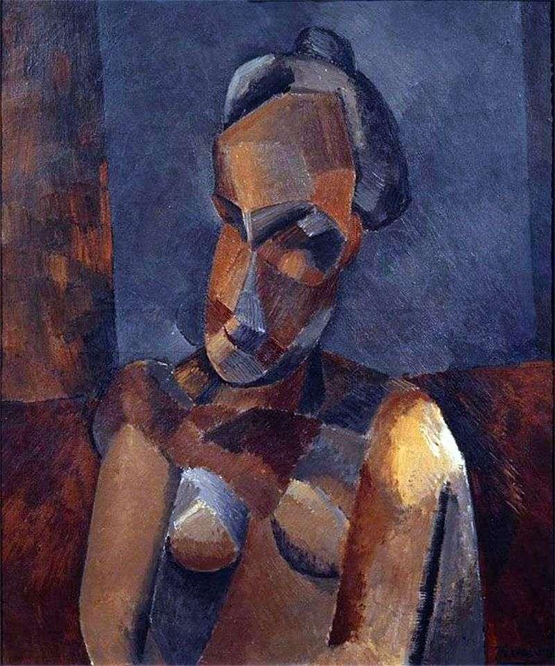 Бюст жінки   Пабло Пікассо