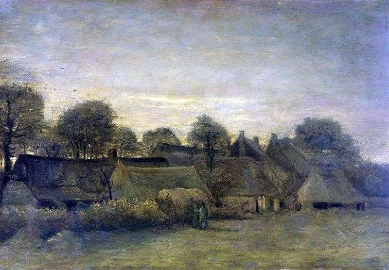 Село на заході   Вінсент Ван Гог