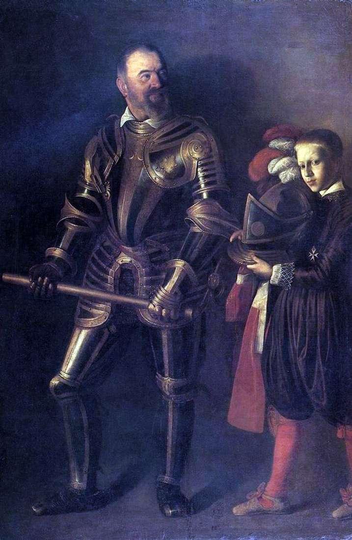 Портрет Алофа де Виньякура   Мікеланджело Мерізі да Караваджо