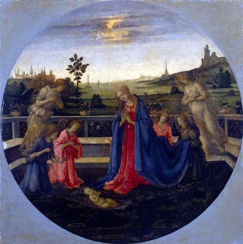 Поклоніння немовляті Христу   Філіппіно Ліппі