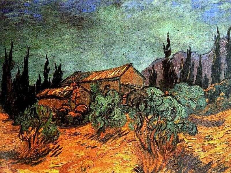 Деревяні сараї   Вінсент Ван Гог