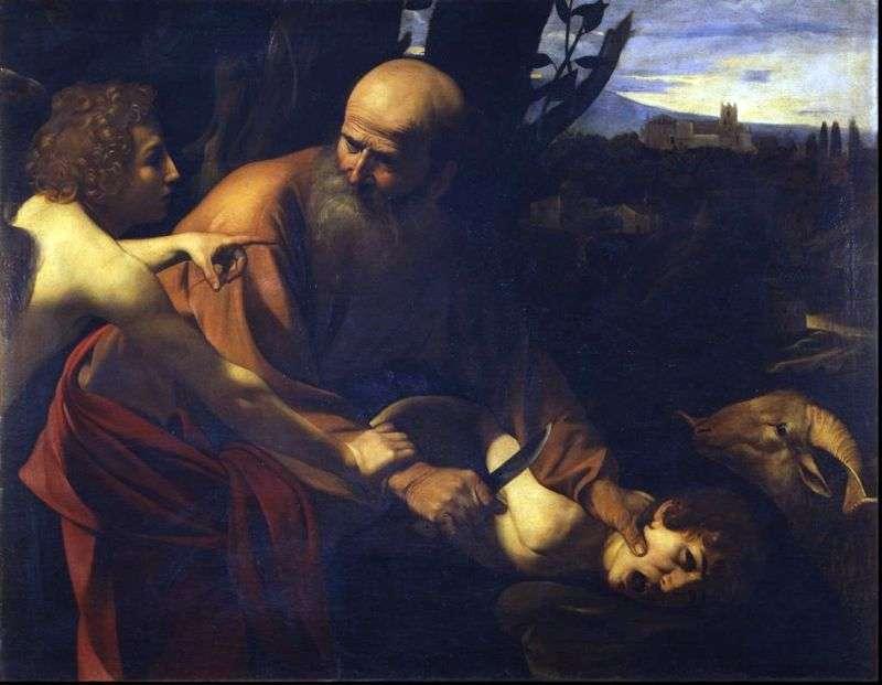 Принесення в жертву Ісаака   Мікеланджело Мерізі да Караваджо
