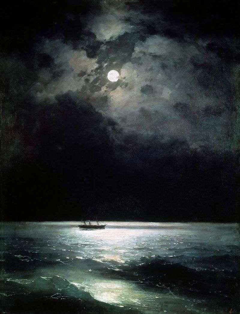 Чорне море вночі   Іван Айвазовський