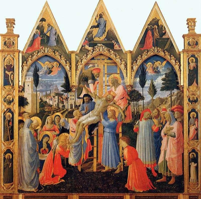 Зняття з хреста   Фра Анджеліко