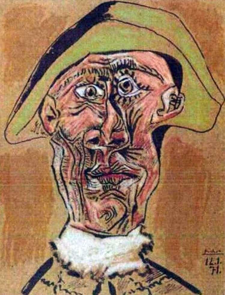 Голова арлекіна   Пабло Пікассо