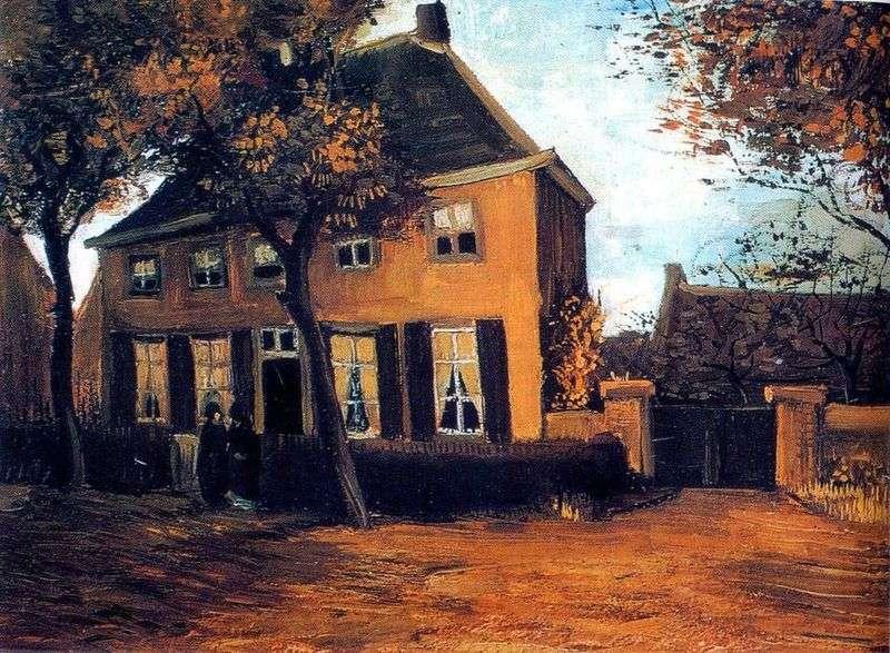 Будинок парафіяльного священика в Нюэнене   Вінсент Ван Гог