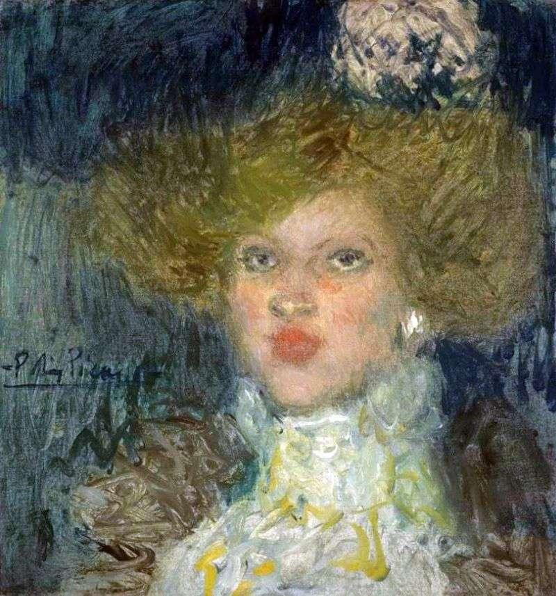 Голова жінки   Пабло Пікассо