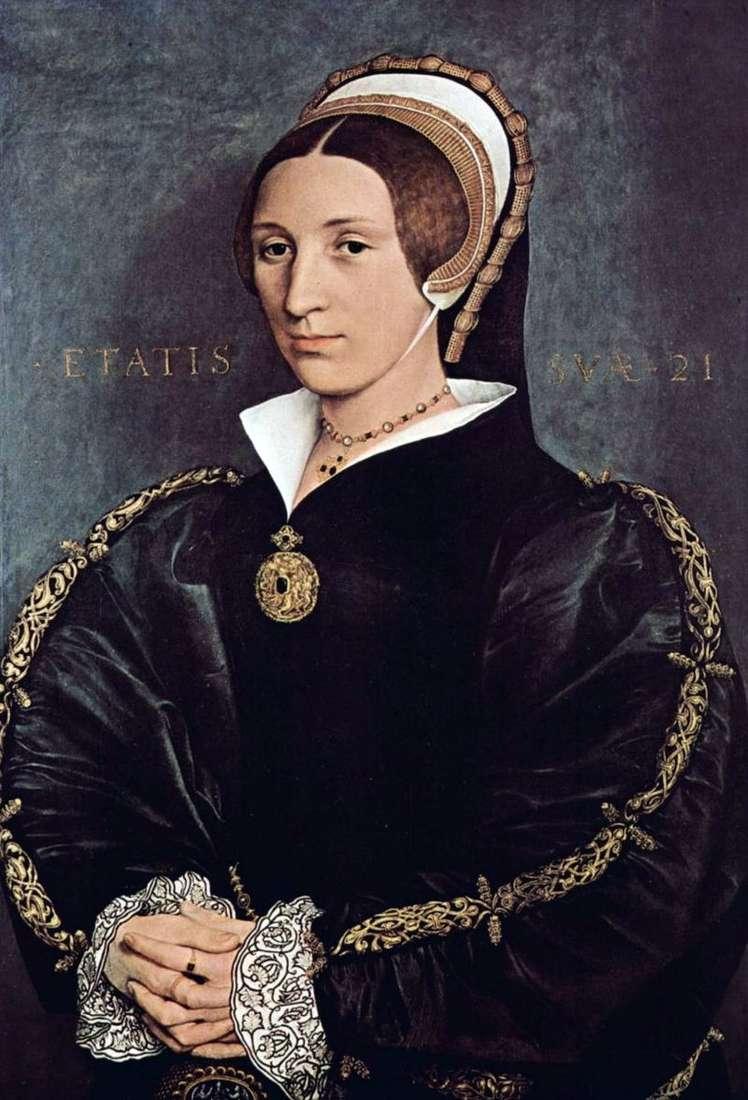 Портрет Катерини Говард, пятої дружини короля Генріха VIII   Ганс Гольбайн