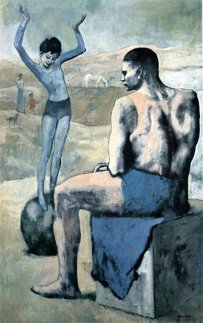 Дівчинка на кулі   Пабло Пікассо