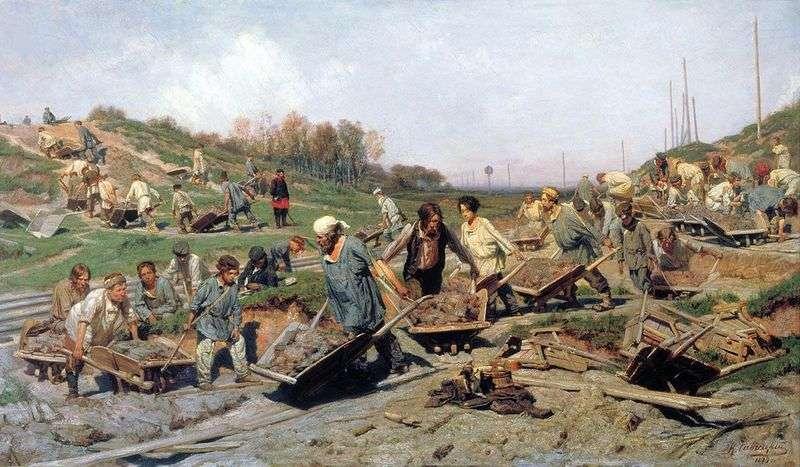 Ремонтні роботи, на залізниці   Костянтин Савицький