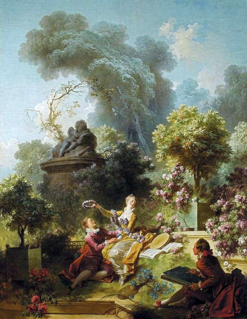 Вінок коханому   Жан Оноре Фрагонар