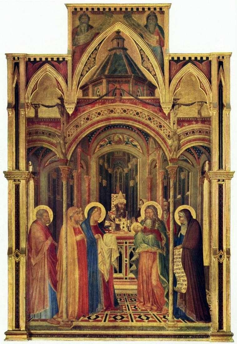 Принесення у храм   Амброджо Лоренцетті