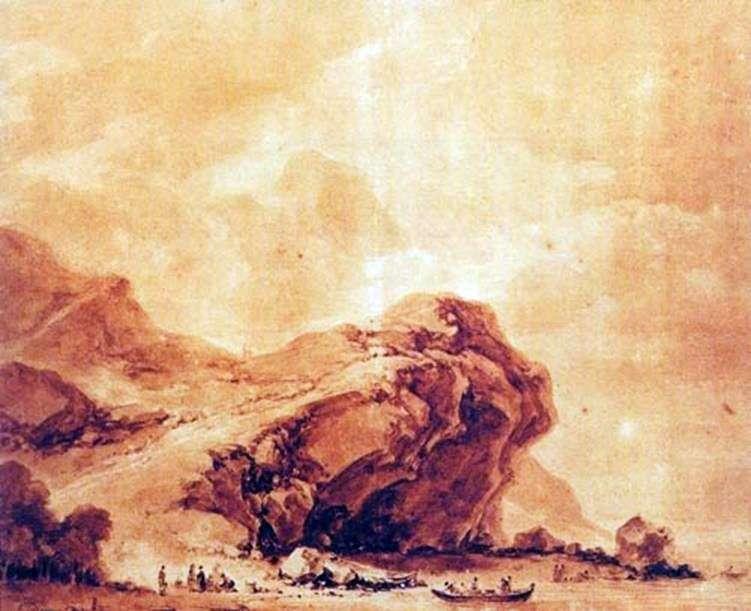 Вид на узбережжі поблизу Генуї   Жан Оноре Фрагонар
