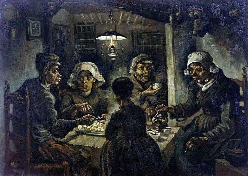 Їдці картоплі   Вінсент Ван Гог