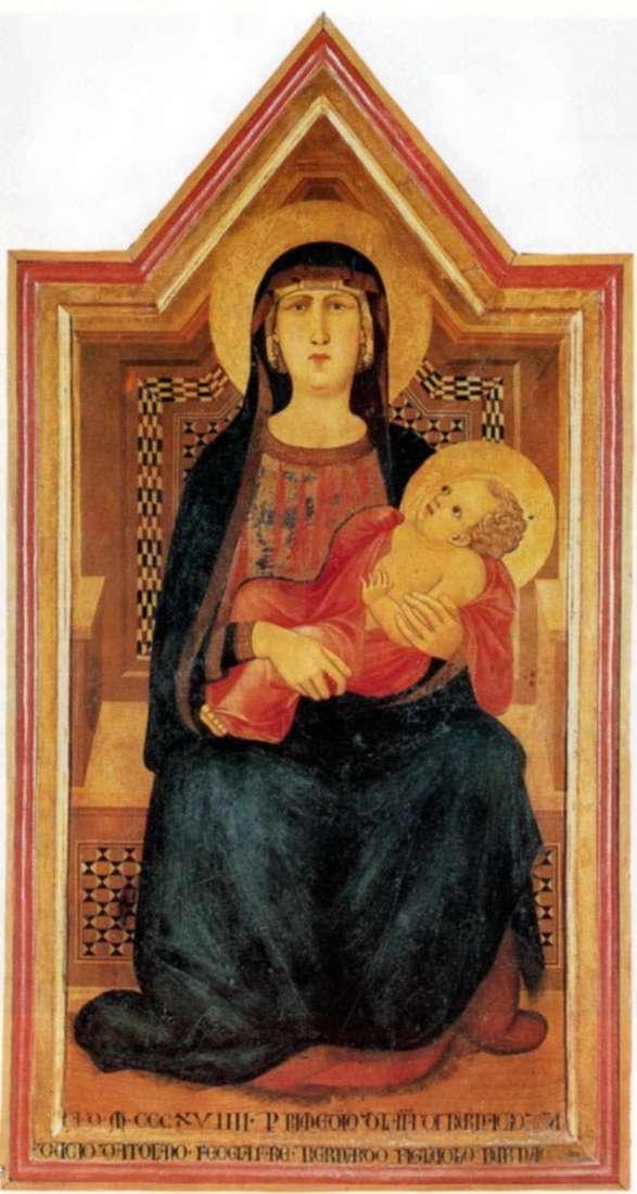 Мадонна з Вико  Абате   Пєтро Лоренцетті