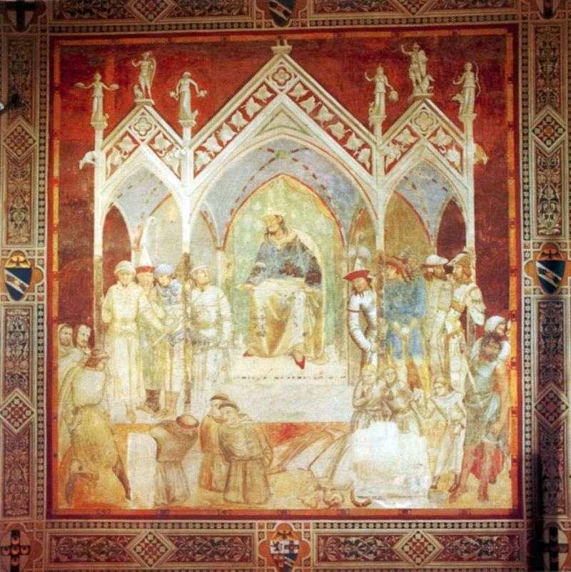 Мучеництво францисканців в Сеуті   Пєтро Лоренцетті