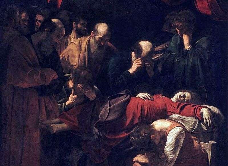 Смерть Марії   Мікеланджело Мерізі да Караваджо