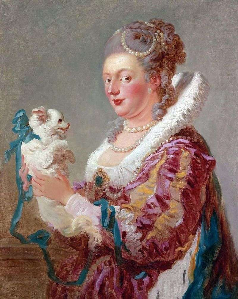 Дама з собачкою   Жан Оноре Фрагонар