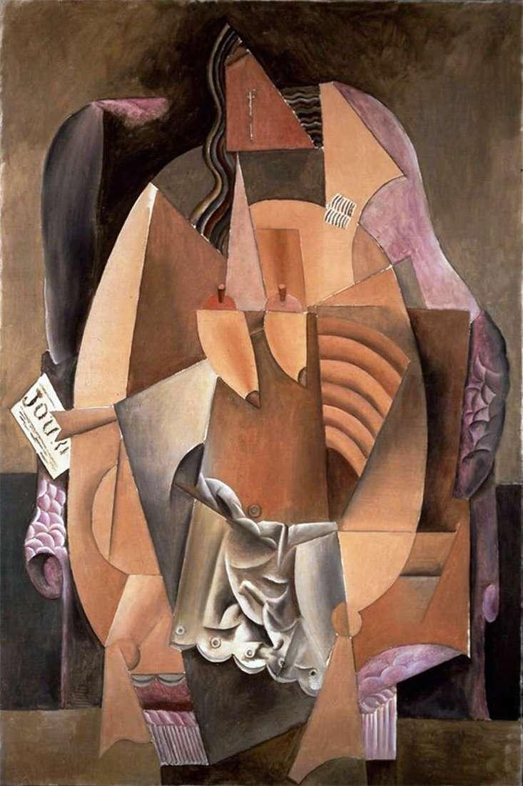 Жінка в сорочці, що сидить в кріслі   Пабло Пікассо