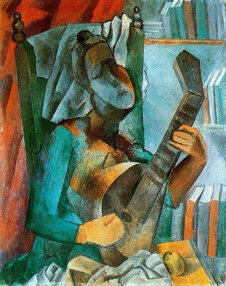Жінка з мандолиной   Пабло Пікассо